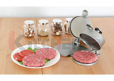 China Solid Aluminum Double Hamburger Press Machine With Adjustable Patty Thickness supplier