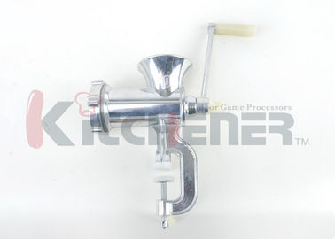 China Hand Powered Manual Meat Grinder Stainless Steel Heavy Duty For Processing / Yielding supplier