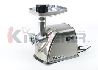 China 0.5 HP Industrial / Commercial Automatic Meat Grinder Heavy Duty Electric 400W supplier