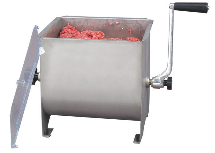 42 gallon manual stainless steel meat mixer rust resistant with removable paddle - Meat Mixer