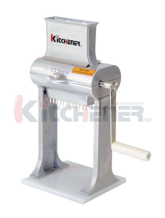 Fda Cast Automatic Electric Meat Cuber Machine Tool With