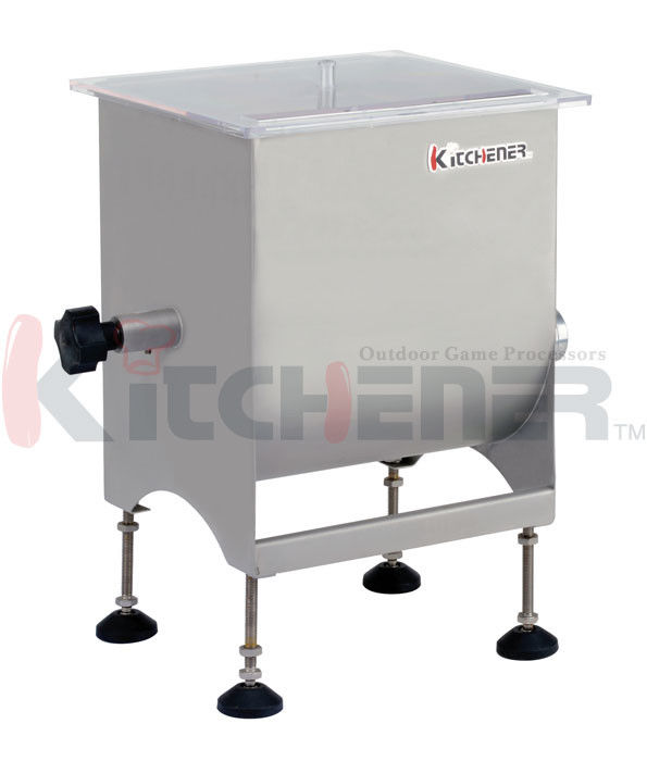 China Restaurant 20 Pound Homemade Meat Mixer , Stand Mixer With Meat Grinder Sausage Maker supplier