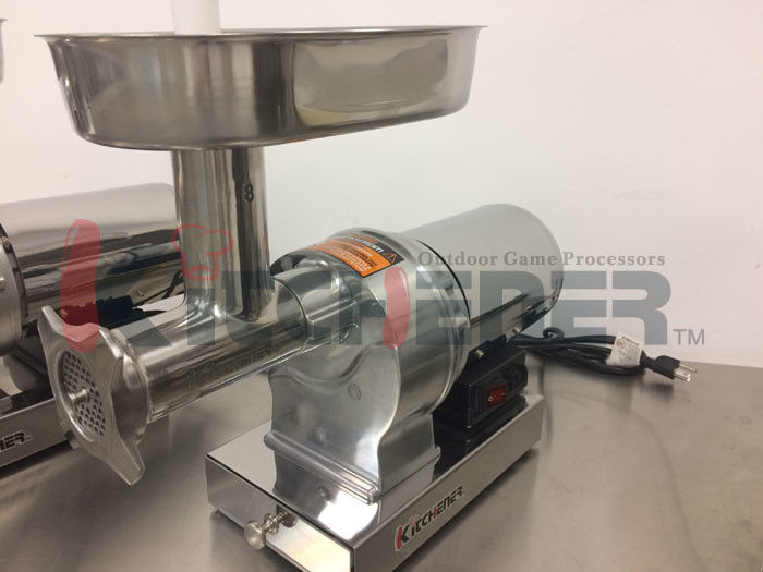 Butcher Shop Industrial Heavy Duty Meat Grinder With Water
