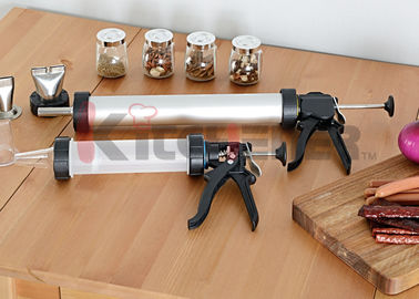Two Nozzle Plastic Jerky Blaster Non Corrosive Tube With Heavy Duty Drive / Handle