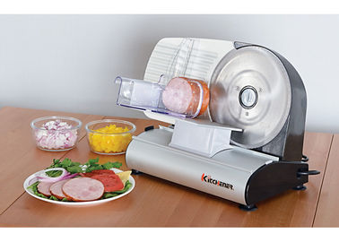 Professional Heavy Duty Meat Slicer Commercial With Finger Protection Carriage 200 Watt