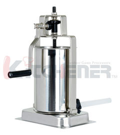 Hand Manual Sausage Stuffer Making Equipment10LBs With Three Stuffing Tubes