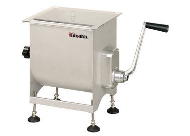 Heavy Duty Stainless Steel Meat Mixer Hand Crank For Commercial Meat Mincer