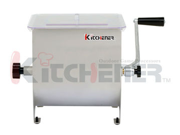 Adjustable Height Stainless Steel Meat Mixer 7 Gallon For Grinder Sausage Stuffer
