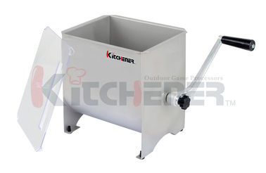 7 Gallon Hand Crank Stainless Steel Meat Mixer For Mincer And Sausage Maker