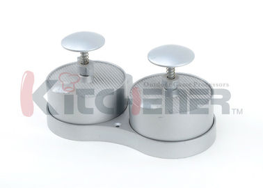 Dual Commercial Hamburger Press , Burger Patty MakerWith BBQ Grill Non Sticking Coating