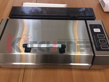 Professional Automatic Food Vacuum Sealer With Cutter / Digital Controls