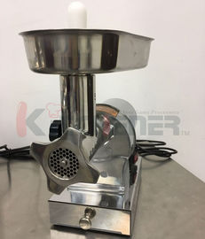 Beef  Electric Meat Grinder With Sausage Stuffer Foot Pedal Control 3 Grinding Plates