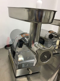 750W Heavy Duty Commercial Meat Grinder Large Capacity With Enlarge Throat